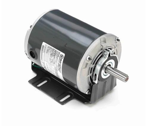 G106 Marathon 1/3 hp 3 phase 1800 RPM 56 Frame 208-230/460V ODP Resilient Mount Marathon Motor