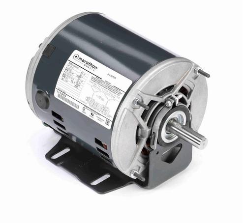 1/2 -1/6 hp 3 phase 1800/1200 RPM 56 Frame 200-230V ODP Resilient Mount Marathon Motor # K544