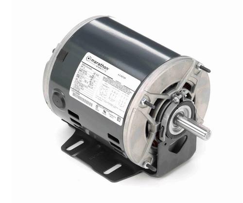 K381 Marathon 1/2 hp 3 phase 1800 RPM 56 Frame 208-230/460V ODP Resilient Mount Marathon Motor