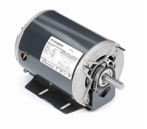 3/4 -1/4 hp 1800/1200 RPM 56 Frame 200-230V ODP Resilient Mount Marathon Motor # K279