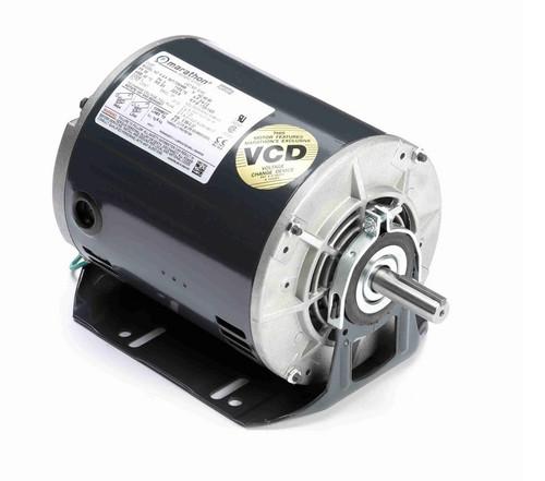 3/4 hp 1800 RPM 56 Frame 208-230/460V ODP Resilient Mount Marathon Motor # G141