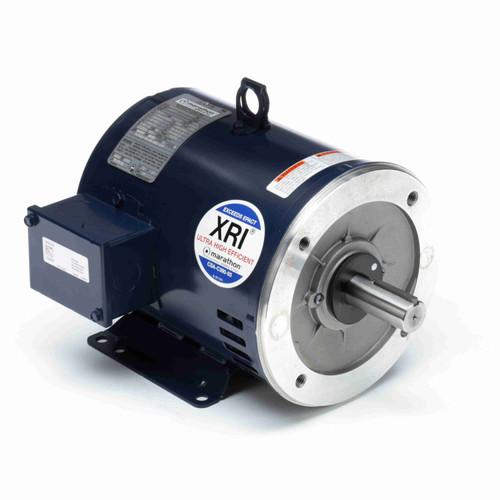 U446A Marathon 50 hp 1800 RPM 326TSC Frame ODP C-Face (rigid Base) 230/460V Marathon Electric Motor