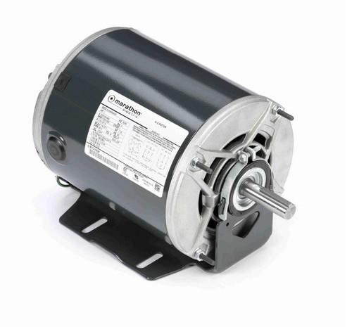 K278 Marathon 1 hp 3 phase 1800 RPM 56 Frame 208-230/460V ODP Resilient Mount Marathon Motor