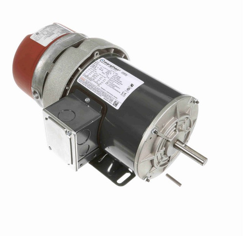 K455 Marathon 1/2 hp 3 phase 1800 RPM 56C Frame 208-230/460V TEFV Marathon Electric Brake Motor