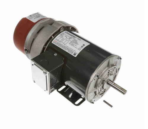 K437 Marathon 3/4 hp 3 phase 1200 RPM 56C Frame 208-230/460V TEFV Marathon Electric Brake Motor