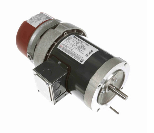 K465 Marathon 1/3 hp 3 phase 1800 RPM 56C Frame 208-230/460V TEFC Marathon Electric Brake Motor