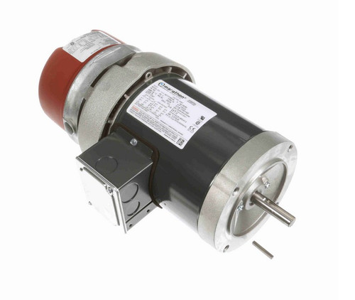 K467 Marathon 1/2 hp 3 phase 1800 RPM 56C Frame 208-230/460V TEFC Marathon Electric Brake Motor