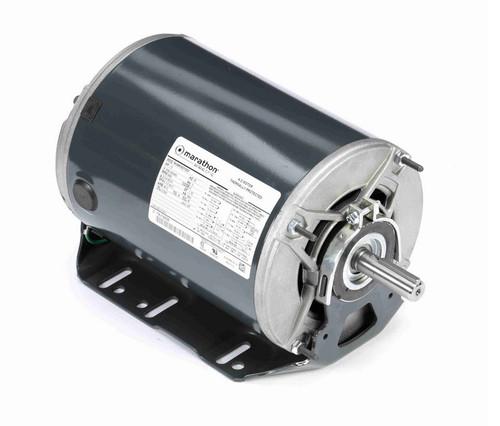 K1413 Marathon 1 1/2 hp 3 phase 3600 RPM 56 Frame 208-230/460V ODP Resilient Mount Marathon Motor