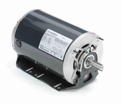 1 1/2 -1/2 hp 3 phase 1800/1200 RPM 56 Frame 200-230V ODP Resilient Mount Marathon Motor # K520