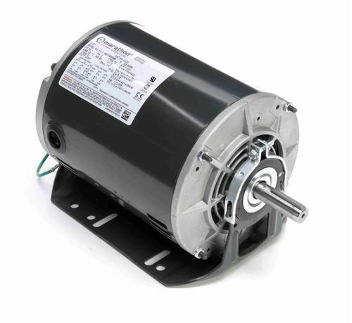 G122 Marathon 1 1/2 hp 3 phase 1800 RPM 56 Frame 208-230/460V ODP Resilient Mount Marathon Motor