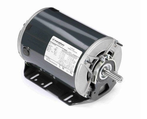 K1415 Marathon 1 1/2 hp 3 phase 1800 RPM 56 Frame 208-230/460V ODP Resilient Mount Marathon Motor