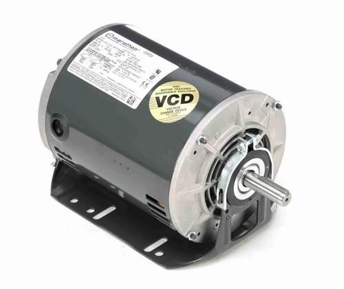 G143 Marathon 1 1/2 hp 3 phase 1800 RPM 56 Frame 208-230/460V ODP Resilient Mount Marathon Motor