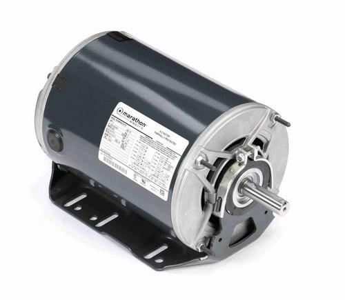 K1416 Marathon 2 hp 3 phase 3600 RPM 56 Frame 208-230/460V ODP Resilient Mount Marathon Motor