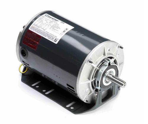 G127 Marathon 2 hp 3 phase 1800 RPM 56 Frame 208-230/460V ODP Resilient Mount Marathon Motor