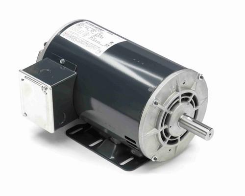 X251 Marathon 5 hp 3 phase 3600 RPM 56 Frame 208-230/460V ODP Resilient Mount Marathon Motor