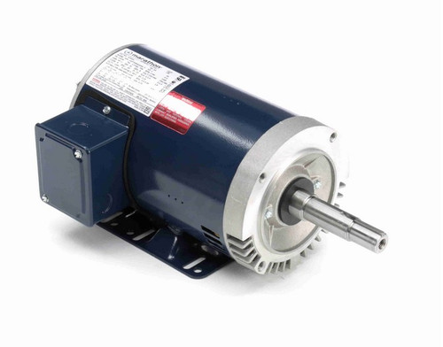 1 hp 3 phase 1800 RPM 143JM Frame 230/460V ODP Marathon Close Coupled Pump Motor # GT0401