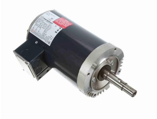 1 1/2 hp 3 phase 1800 RPM 145JMV Frame 200V ODP Marathon Close Coupled Pump Motor # GT4004