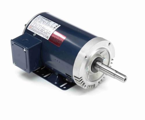 1 1/2 hp 3 phase 1800 RPM 145JM Frame 230/460V ODP Marathon Close Coupled Pump Motor # GT0404