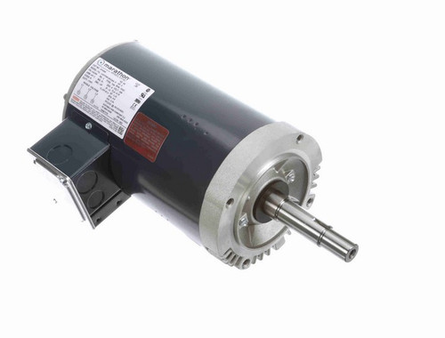 GT4009 Marathon 3 hp 3600 RPM 8.8 amps 200 Volts 60hz. 3 phase motor