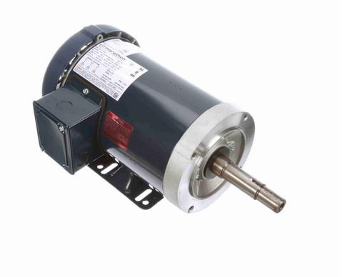 GT3001 Marathon 1 hp 3 phase 1800 RPM 143JM Frame 200V TEFC Marathon Close Couple Motor