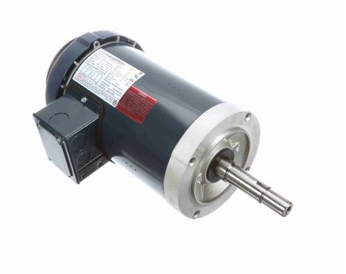 GT5101 Marathon 1 hp 3 phase 1800 RPM 143JMV Frame 230/460V TEFC Marathon Close Coupled Pump Motor