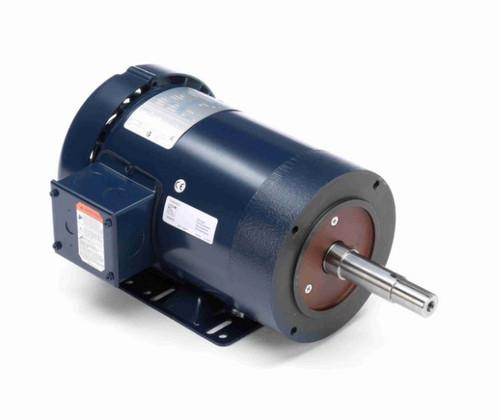GT3103 Marathon 1 1/2 hp 3 phase 3600 RPM 143JM Frame 200/460V TEFC Marathon Close Coupled Pump Motor