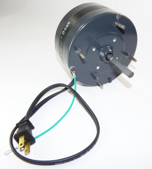 "1/40 hp 1050 RPM CW 5"" Diameter 115V Fasco # D340"