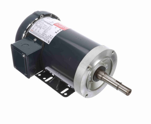 GT3004 Marathon 1 1/2 hp 3 phase 1800 RPM 145JM Frame 200V TEFC Marathon Close Coupled Pump Motor