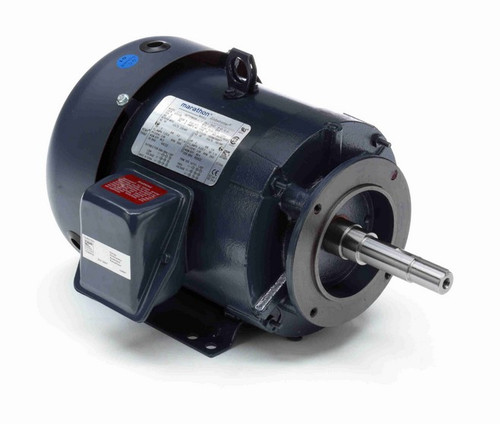 GT3109 Marathon 3 hp 3 phase 3600 RPM 182JM Frame 230/460V TEFC Marathon Close Coupled Pump Motor