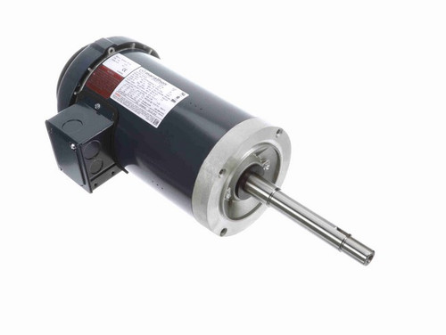 GT5407 Marathon 2 hp 1800 RPM 145JPV Frame 230/460V TEFC Marathon Close Coupled Pump Motor