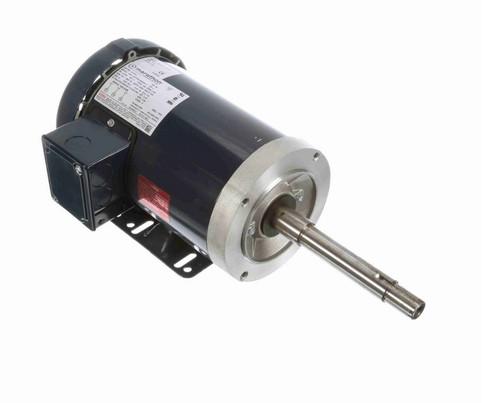 GT3301 Marathon 1 hp 1800 RPM 143JP Frame 200V TEFC Marathon Close Coupled Pump Motor