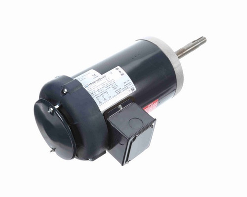 1 hp 1800 RPM 143JPV Frame 200V TEFC Marathon Close Coupled Pump Motor # GT5301