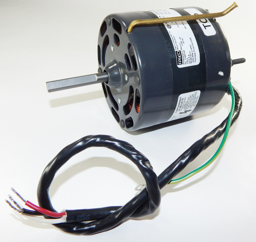 "Fasco D374 Motor | 1/8 hp 1500 RPM 2-Speed CW 4.4"" Diameter 115 Volts"