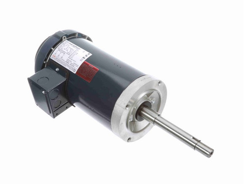 GT5307 Marathon 2 hp 1800 RPM 145JPV Frame 200V TEFC Marathon Close Coupled Pump Motor