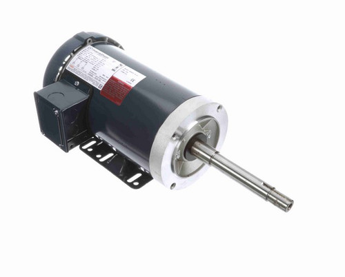 GT3507 Marathon 2 hp 1800 RPM 145JP Frame 575V TEFC Marathon Close Coupled Pump Motor