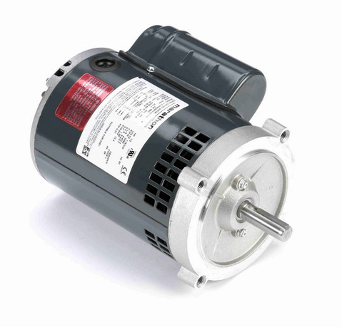 G232A Marathon 1/2 hp 3600 RPM 56C Frame ODP (no base) 115/230V Marathon Electric Motor