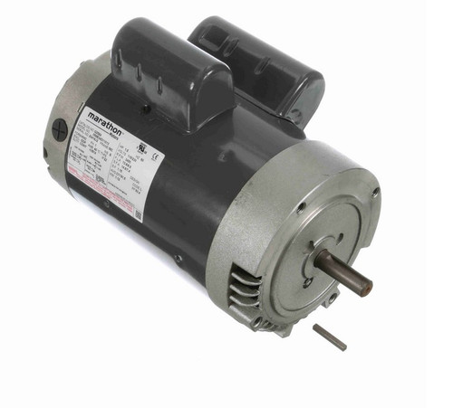 G258A Marathon 1 1/2 hp 3600 RPM 56C Frame ODP (no base) 115/230V Marathon Electric Motor