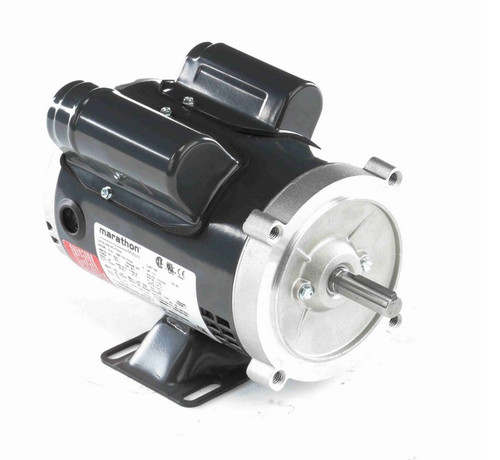 K235A Marathon 1/3 hp 1800 RPM 56C Frame ODP (with base) 115/230V Marathon Electric Motor