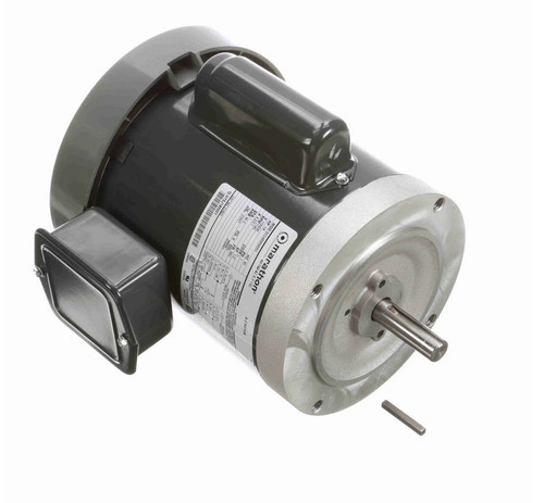 C1423 Marathon 1/4 hp 1200 RPM 56C Frame ODP (no base) 115/230V Marathon Electric Motor
