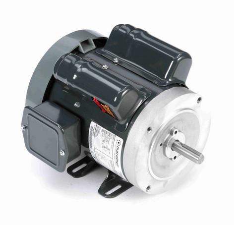 E257 Marathon 1/3 hp 1800 RPM 56C Frame TEFC 100-120/200-240V Marathon Electric Motor