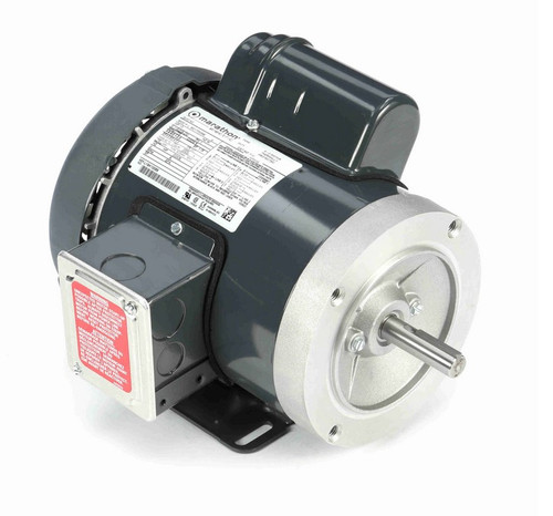 F131 Marathon 1/3 hp 1800 RPM 56C Frame TEFC 115/208-230V Marathon Electric Motor