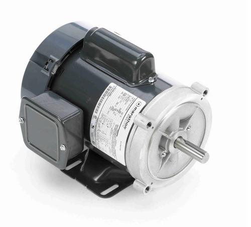 C1420 Marathon 1/2 hp 3600 RPM 56C Frame TEFC 115/208-230V Marathon Electric Motor