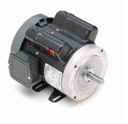 E264 Marathon 1/2 hp 1800 RPM 56C Frame TEFC 100-120/200-240V Marathon Electric Motor