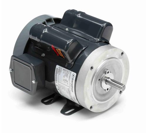 E275 Marathon 3/4 hp 1800 RPM 56C Frame TEFC 100-120/200-240V Marathon Electric Motor