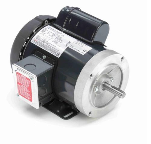 F133 Marathon 3/4 hp 1800 RPM 56C Frame TEFC 115/208-230V Marathon Electric Motor