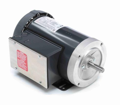 F135 Marathon 1 1/2 hp 1800 RPM 56C Frame TEFC 115/208-230V Marathon Electric Motor