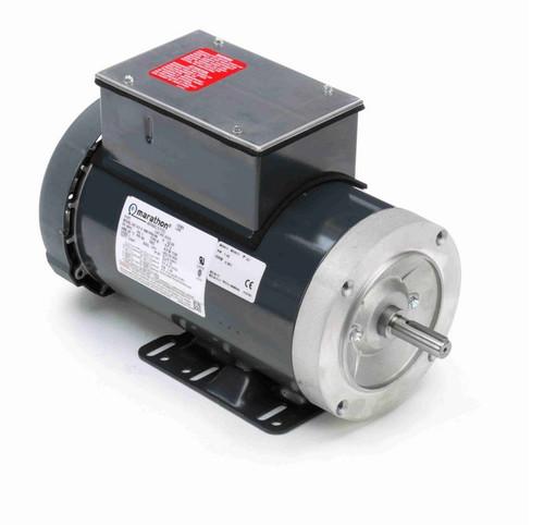 K319 Marathon 2 hp 1800 RPM 56HC Frame TEFC 115/230V Marathon Electric Motor