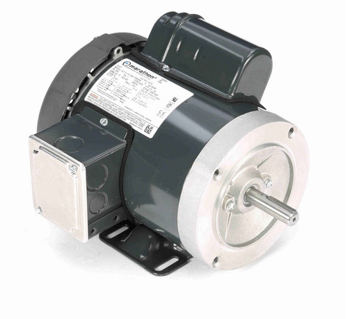 G570 Marathon 1/3 hp 1800 RPM 56C Frame TEFC 115/208-230V Marathon Electric Motor