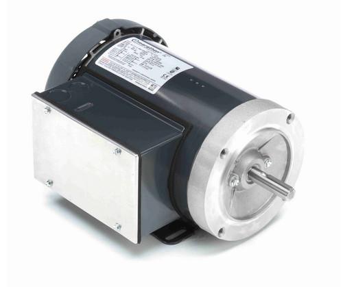 G578 Marathon 1/2 hp 1200 RPM 56C Frame TEFC 115/208-230V Marathon Electric Motor