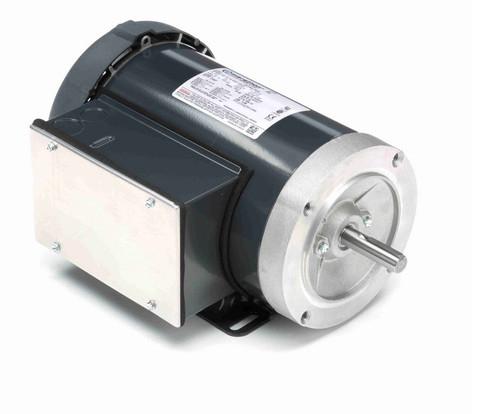 G579 Marathon 3/4 hp 1200 RPM 56C Frame TEFC 115/208-230V Marathon Electric Motor